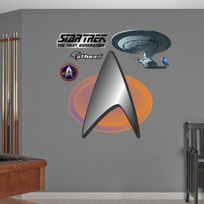 Star Trek The Next Generation Insignia Wall Decal 1093-00012