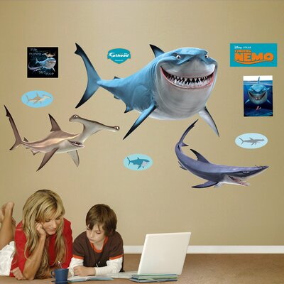 Disney Finding Nemo Sharks Wall Decal 74-74519