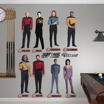 Star Trek The Next Generation Wall Decal 1093-00028
