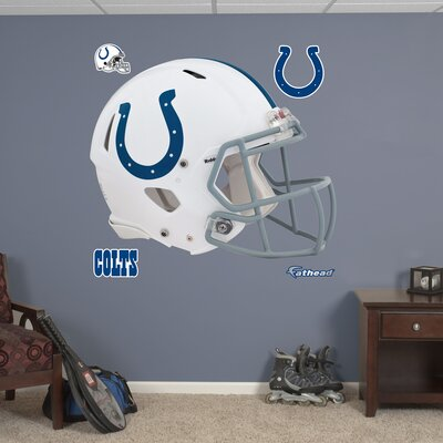 NFL Revolution Helmet Wall Decal NFL Team: Indianapolis Colts 11-10061