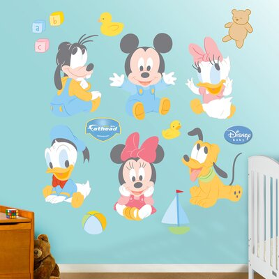 Fathead Disney Baby Mickey Mouse Wall Decal at Sears.com