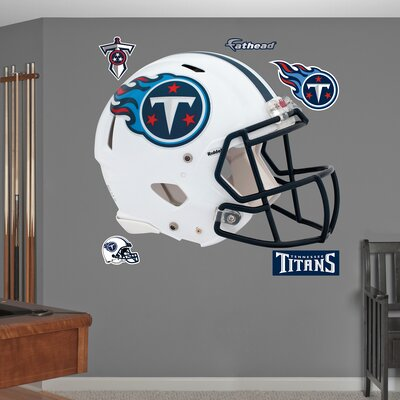 NFL Revolution Helmet Wall Decal NFL Team: Tennessee Titans 11-10078