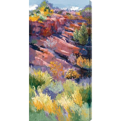 Shadows on the Hill I by Maxine Price Painting Print Canvas Size: 12