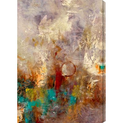 Iridescent Nature I by Justin Garcia Painting Print Canvas Size: 34