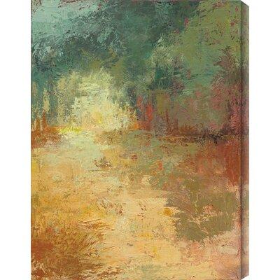 Arbor Vitae III by Caroline Ashton Painting Print Canvas Size: 16