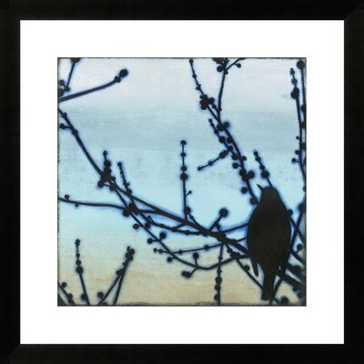 Morning Song III by Sean Jacobs Framed Paper Print Art Size: 24