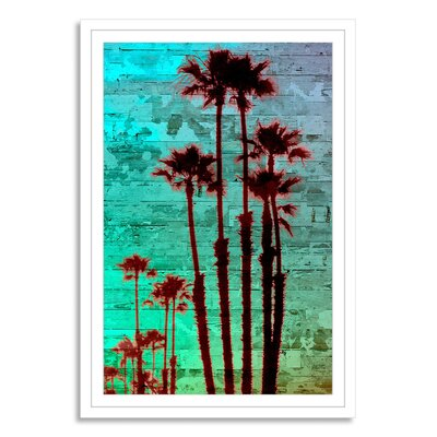 NEO Beach and Nautical Time Off XII Framed Graphic Art Size: 16