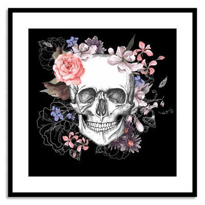 Dia de los Flora Framed Graphic Art NE80268