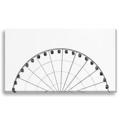 "Half Wheel by New Era Photographic Print on Canvas Size: 28"" H x 48"" W x 1.5"" D NE81730"