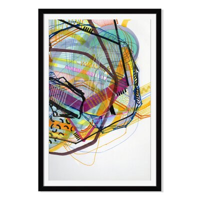 'Neon Jungle' by Jaime Derringer Framed Graphic Art DJ103A_PF_12x16_F0065