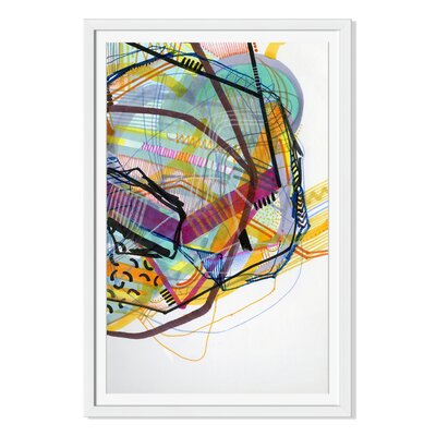 'Neon Jungle' by Jaime Derringer Framed Graphic Art DJ103A_PF_12x16_F0093