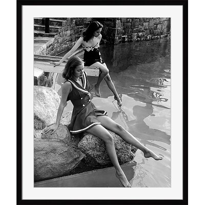 Models Showing New Bathing Suits Framed Photographic Print 72430226_PF_17x20