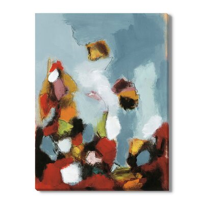 'Early Celebration II' by T. Graham Painting Print on Wrapped Canvas Size: 36