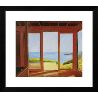 'Good Morning' by Ieva Baklane Framed Painting Print Size: 33