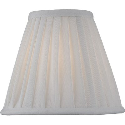 Candelabra Lamp Shade in Empire Pleat