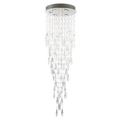 Almaguer 7-Light LED Crystal Chandelier