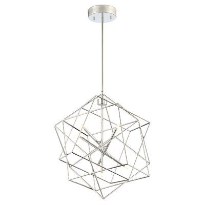Fedler 7-Light Foyer Pendant Finish: Chrome