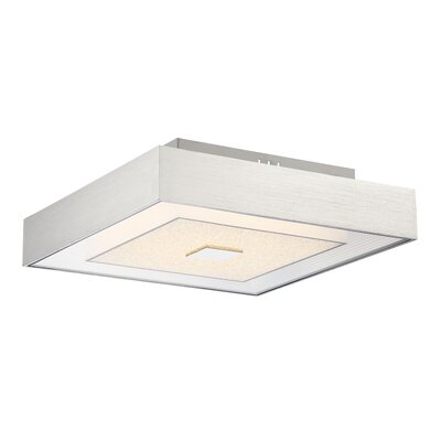 Kittle 1-Light Semi Flush Mount