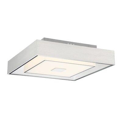 Kittle 1-Light LED Semi Flush Mount