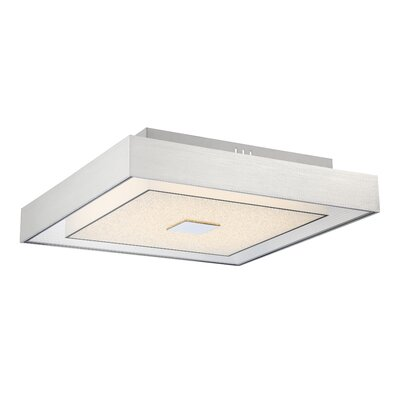 Kittle 1-Light LED Semi Flush Mount