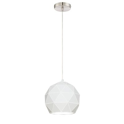 Breit 1-Light Globe Pendant
