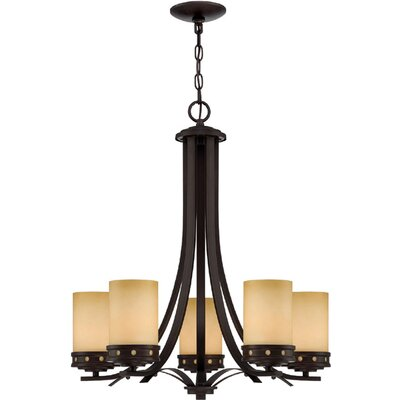 Tellier 5-Light Candle-Style Chandelier
