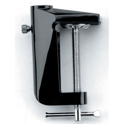 D Clamp for Solare, Combo-Lite and Mag-Lite Finish: Black