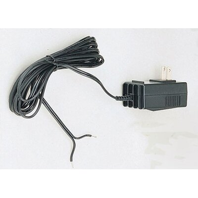 60W Electronic Transformer with Auto Stop in Black