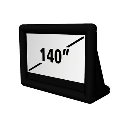 Matte White 140 diagonal Portable Projection Screen