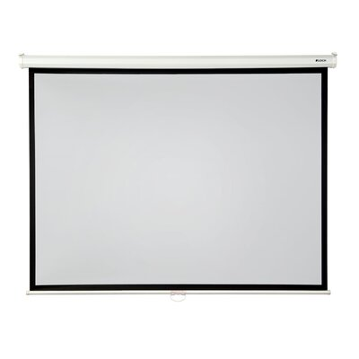 High Contrast Grey 100 diagonal Manual Projection Screen