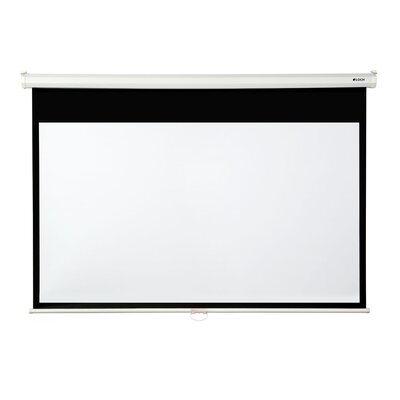 Matte White 130 diagonal Manual Projection Screen