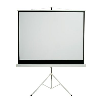Matte White 120 diagonal Portable Projection Screen