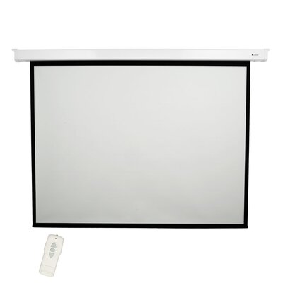 High Contrast Grey 100 diagonal Electric Projection Screen