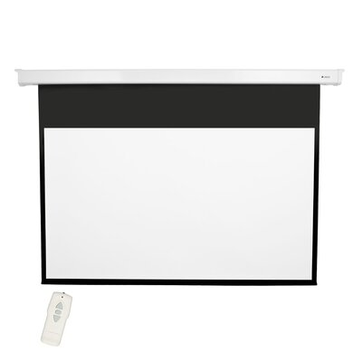 Matte White 92 diagonal Electric Projection Screen