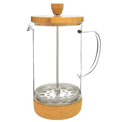 8-Cup Melbourne Bamboo Lid French Press Coffee Maker GR 343