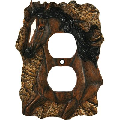 Horse Receptical Cover Socket Plate