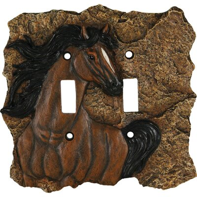 Horse Switch Socket Plate