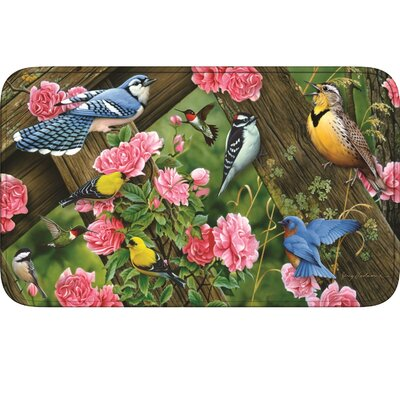 Song Birds Doormat