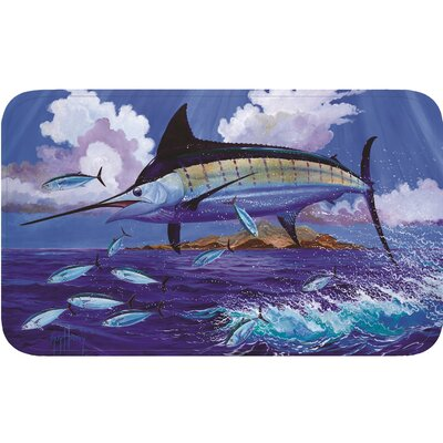 Guy Harvey Marlin Door Mat