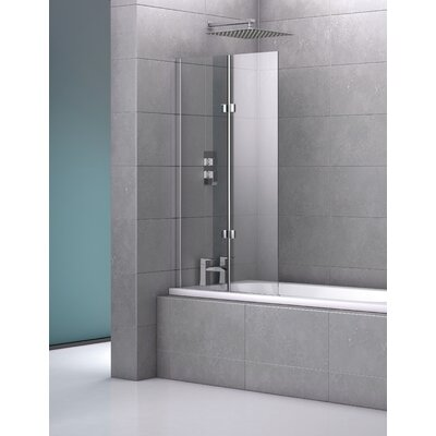 Cubico Genoa Fameless Double Bath Screen