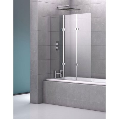 Genoa Fameless Triple Bath Screen