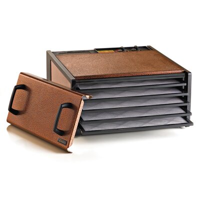 5 Tray Dehydrator with Timer Color: Copper