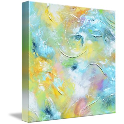 'Simply Irresistible' Acrylic Painting Print on Wrapped Canvas Size: 11