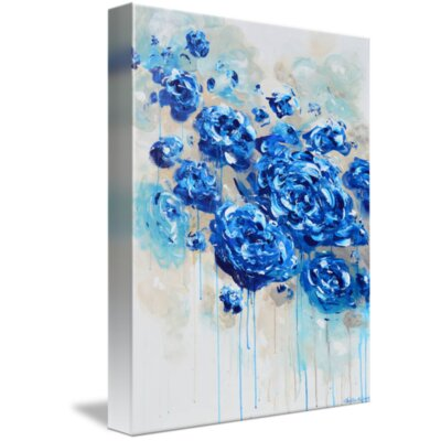 'True' Acrylic Painting Print on Wrapped Canvas Size: 15