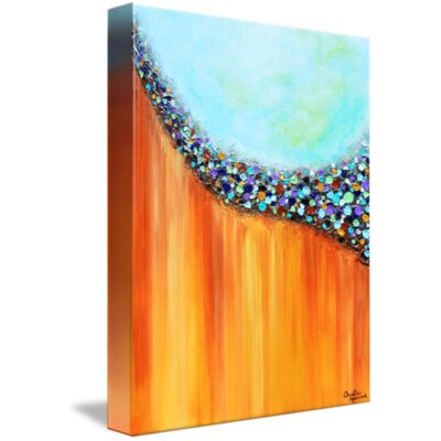 'Eye Candy' Acrylic Painting Print on Wrapped Canvas Size: 15