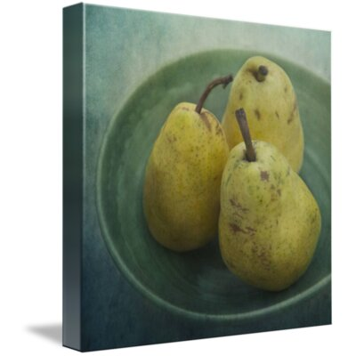 'Pears in a Square' Photographic Print on Canvas Size: 11