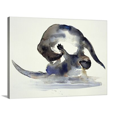 'Courtship' by Mark Adlington Painting Print on Canvas Size: 36