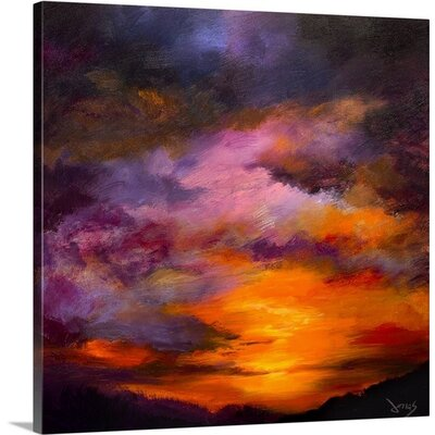 Majestic Skies by Jonas Gerard Painting Print on Canvas Size: 20 H x 20 W x 1.5 D