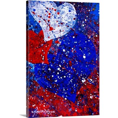 Heartfelt III by Marion Rose Painting Print on Wrapped Canvas Size: 36