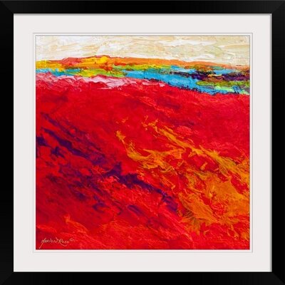 Abstract Landscape IV by Marion Rose Framed Painting Print 1156772_15_16x16_none